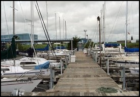 Sailboats at Dock - Marine Supply
